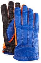 Etro Tricolor Napa Leather Gloves