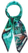 Kelly Wearstler Silk Printed Scarf w/ Tags