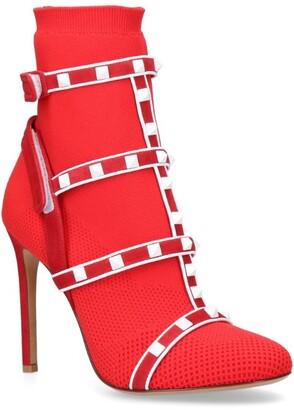 Valentino Garavani Rockstud Bodytech Ankle Boots 105