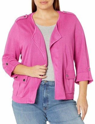 Nic+Zoe Women's Plus Size Sweater Jacket