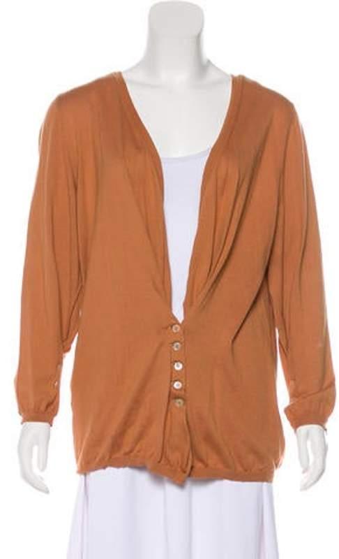 Marni Long Sleeve Button-Up Cardigan Long Sleeve Button-Up Cardigan
