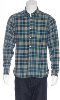 Shipley & Halmos Plaid Flannel Shirt