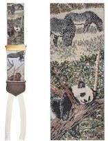Trafalgar Men's 'Endangered Species' Silk Suspenders