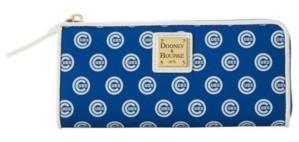 Dooney & Bourke Chicago Cubs Zip Clutch