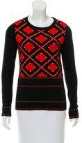 Prabal Gurung Patterned Wool Sweater