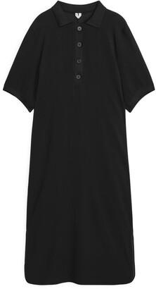 Arket Textured Polo Dress