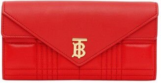 Burberry Monogram Quilted Continental Wallet