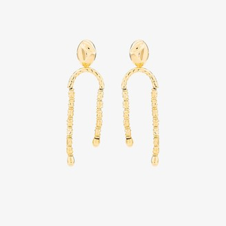 Monica Sordo gold-plated Uricao Chandelier earrings