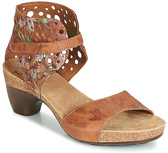 Think! TRAUDIA women's Sandals in Brown
