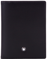 Montblanc Meisterstück Leather Multi Credit Card Holder, Black