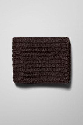Weekday Candice Scarf - Brown