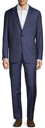 Hickey Freeman Milburn IIM Series Wool Suit