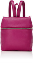 Kara WOMEN'S ZIP-CLOSE SMALL BACKPACK-DARK PURPLE
