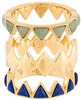 Tory Burch 'Aventurine' ring