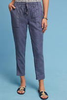 Level 99 Linen Side-Slit Pants