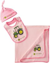 John Deere Baby-Girls Newborn Tractor Layette Set