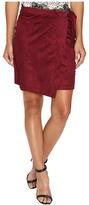 Kensie Drapey Faux Suede Skirt KS9K6230