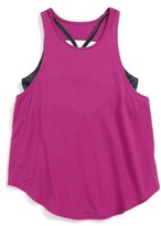 Zella Girl's Double Layer Tank