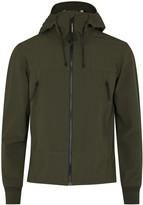C.p. Company Olive Goggle Shell Jacket