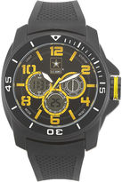 JCPenney WRIST ARMOR Wrist Armor C24 Mens US Army Rubber Strap Chronograph Watch