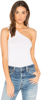 Enza Costa One Shoulder Tank