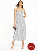 Fashion Union Darnell Stripe Maxi Dress