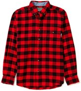 Woolrich Trout Run Long-Sleeve Check Flannel Shirt