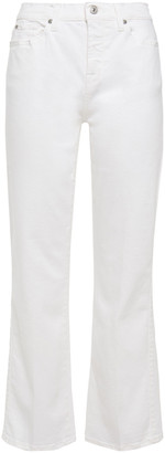 7 For All Mankind Mid-rise Kick-flare Jeans