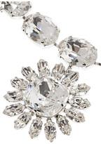 Dolce & Gabbana Natale palladium-plated Swarovski crystal necklace