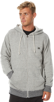 Billabong Revolution Sherpa Mens Zip Thru Hood White