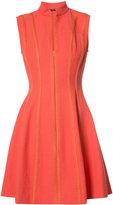 Josie Natori flared dress - women - Cotton/Nylon/Spandex/Elastane - 4