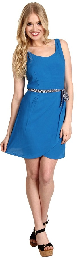 BB Dakota Hanover Dress (Dynasty Blue) - Apparel
