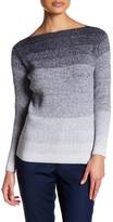 Lafayette 148 New York Degrade Wool Blend Sweater (Petite)