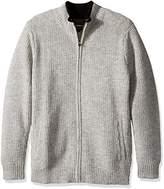 Pendleton Men's Shetland Full-Zip Cardingan Sweater