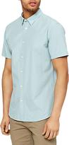 Selected Onelouis Short Sleeve Shirt, Blue