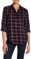 Joe Fresh Metallic Plaid Shirt