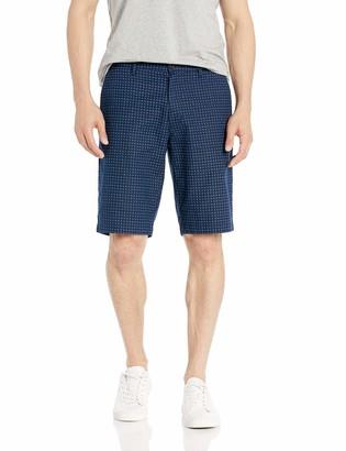 "Goodthreads Amazon Brand Men's 11"" Inseam Linen Cotton Short"