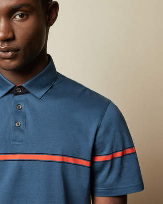 Ted Baker KARGO Cotton striped polo shirt