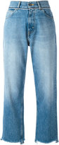 Golden Goose Deluxe Brand stonewashed cropped jeans - women - Cotton - 27