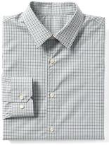 Gap Supima cotton tattersall standard fit shirt