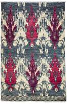"Bloomingdale's Ikat Collection Oriental Rug, 4'7"" x 7'"