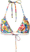 Stella McCartney floral print bikini top