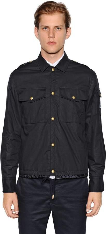 Moncler Gamme Bleu Cotton Muslin Shirt Jacket