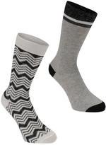 Firetrap Gift Bag Socks 2 Pack