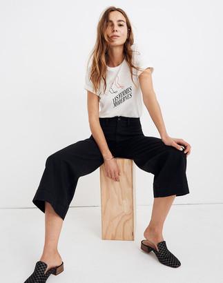 Madewell Petite Emmett Wide-Leg Crop Pants