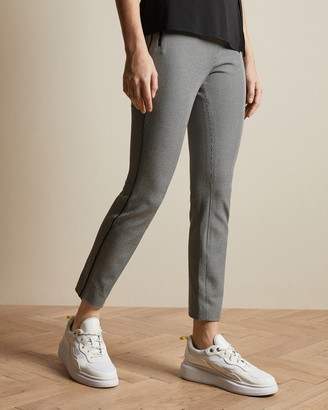 Ted Baker KAROLIN Check skinny ankle grazer trousers
