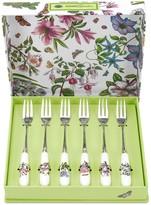 Portmeirion Botanic Garden 6-pc. Pastry Fork Set