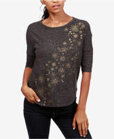 Lucky Brand Metallic-Graphic High-Low Top