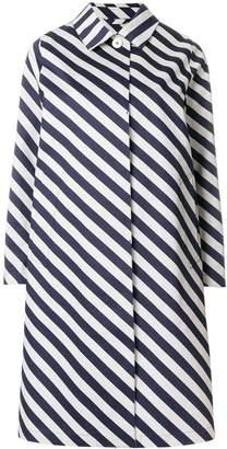 MACKINTOSH striped raincoat