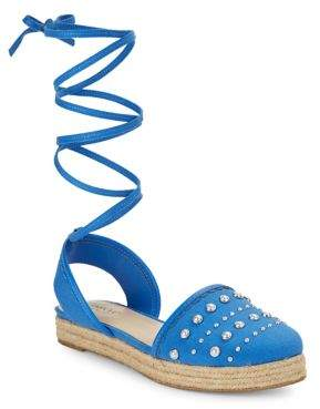 Isaac Mizrahi Imnyc Hilda Lace-Up Espadrille Sandals